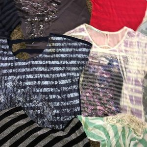Fashion tops set of 15 various brands size XL